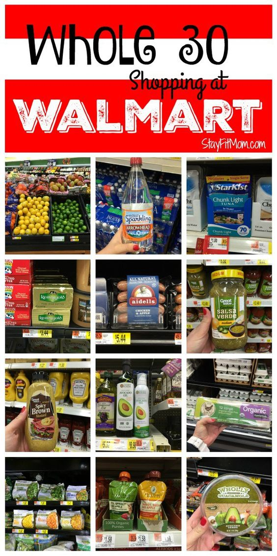 Whole30 Walmart Shopping List Tags, Healthy eats and