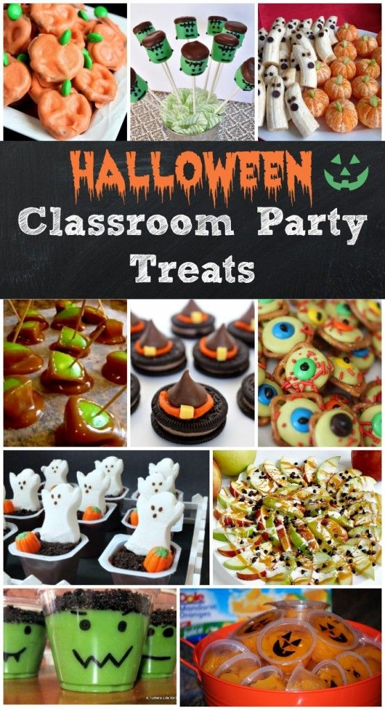 Easy Halloween Treats for Your Classroom Parties Easy