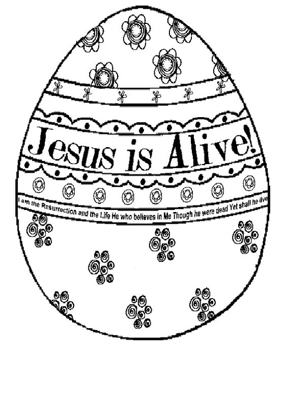 jesus is alive easter coloring pages and coloring pages on pinterest