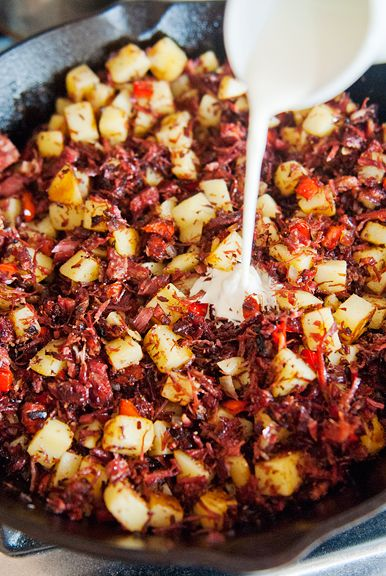corned beef hash recipe | use real butter:
