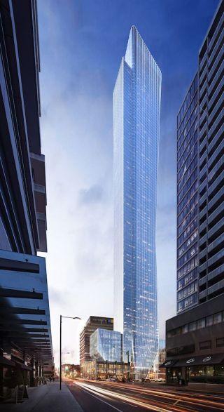 Toronto 385 Yonge Street render
