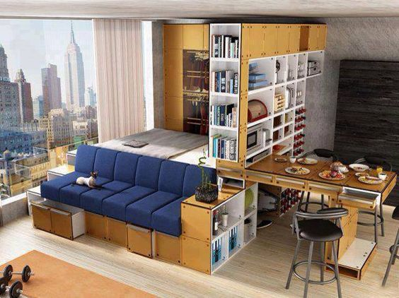 studio apartments space saving and apartments on pinterest
