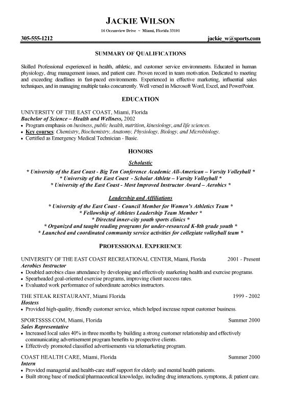 Resume Template First Job No Experience. Letter Sample Free Resume