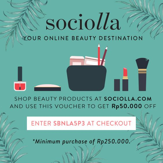 My gift for you, Sociolla Discount Code - SBNLA5P3