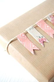 About the nice things: Nice Packaging using Washi Tape: