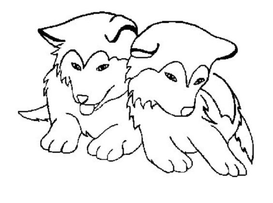 husky dog coloring pages printable cooloring com