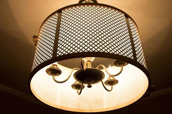 Pretty Right Knuckle Salads DIY Drum Shade Tutorial For