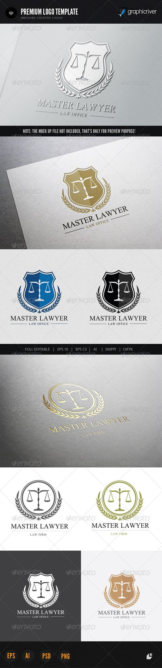 Law Firm V1 Adobe Creative and Logo design