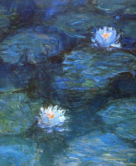 Water lilies  Claude Monet: