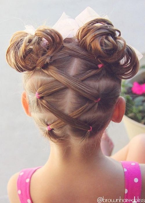 20 Amazing Braided Pigtail Styles For Girls Bun Hair