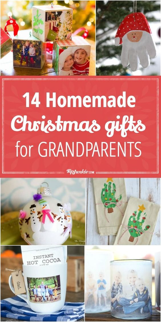 14 Homemade Christmas Gifts for Grandparents via