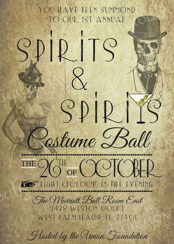 Spirit halloween, Halloween invitations and Invitations on