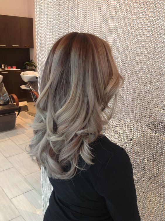 Ash Balayage Color Melt Balayage Hair Color 2015 Ombr