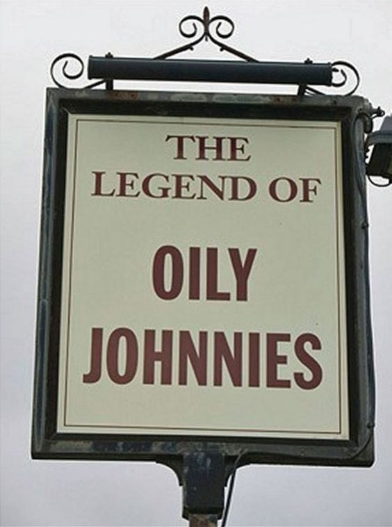The Legend Of Oily Johnnies, Winscales, Cumbria - Weirdest Pub Names