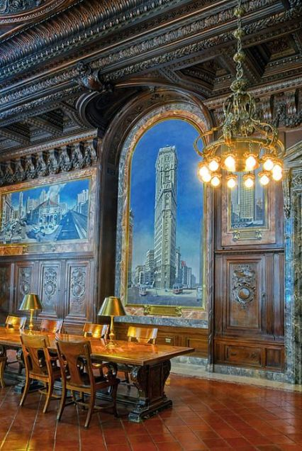 Reading Room Ny Public Library. New York City NYC. Dave Mills: