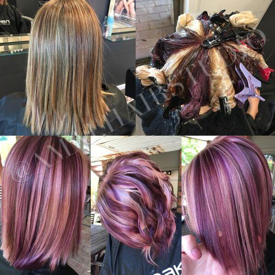 Pinwheel Hair With Beach Waves Violet Pinwheel Amai Hair