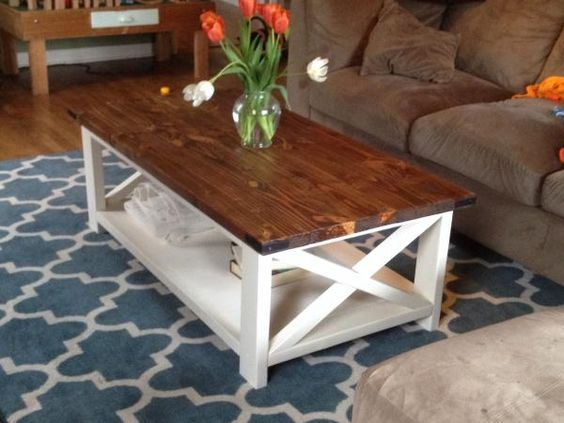 diy pete farmhouse coffee table coffee table inspired by pottery rh yhgsb p7 de