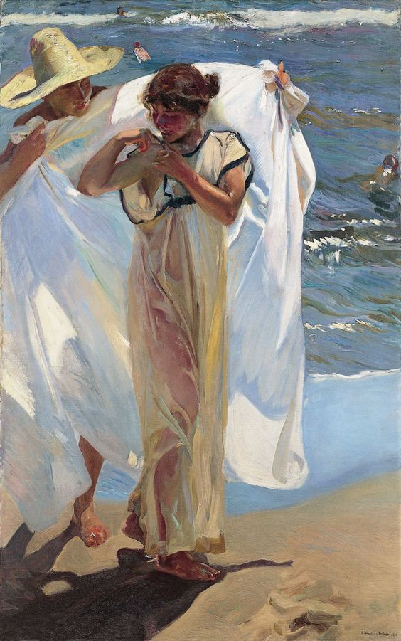 Sorolla - A Spanish impressionist who doesn't get enough recognition.: