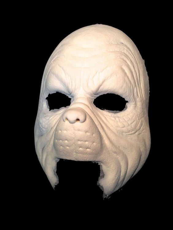 Details About Halloween Foam Latex Grinch Face Brows Mask