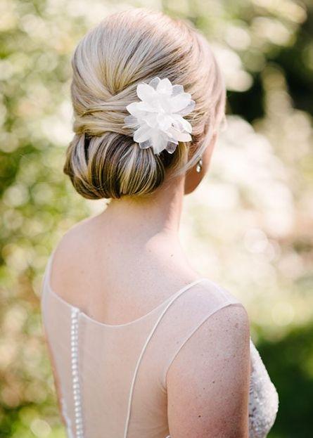 Classic Wedding Hairstyle - Chignon | Brides.com: