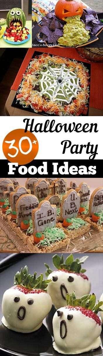 Halloween party foods, Food ideas and Parties food on