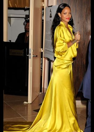 Image result for Rihanna In yellow