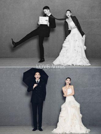 Foto pre wedding ala korea