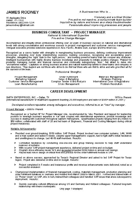example of a resume profile resume profile summary examples source
