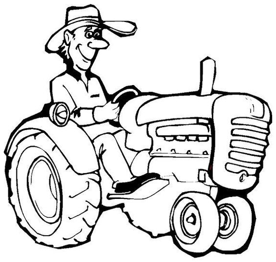 coloring pages farmers and coloring on pinterest