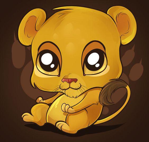 also girls on cartoon lion