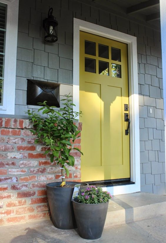 Beautiful Front Door Paint Colors - Satori Design for Living: