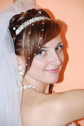 perfect wedding hair with a side bang and veil hot hairstyles hairstyle hair long