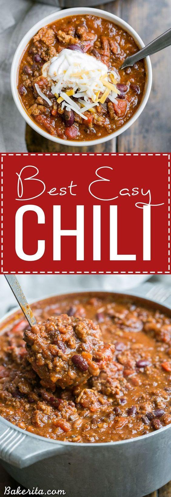My Best Chili Recipe