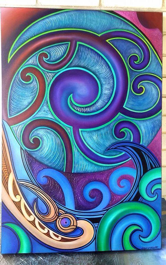 Maori art... Beautiful … Pinteres…