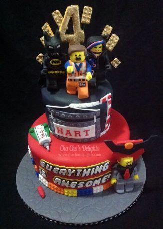 pièce montée gâteau d'anniversaire lego