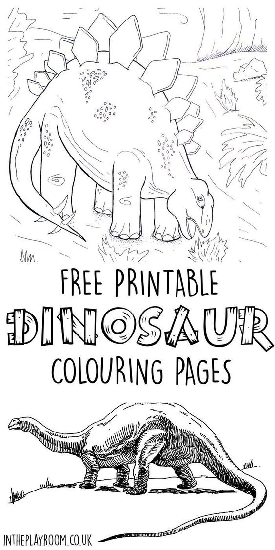 realistic dinosaur coloring pages printable colouring pages colouring pages dinosaurs and free printable - Dinosaur Coloring Pages Realistic