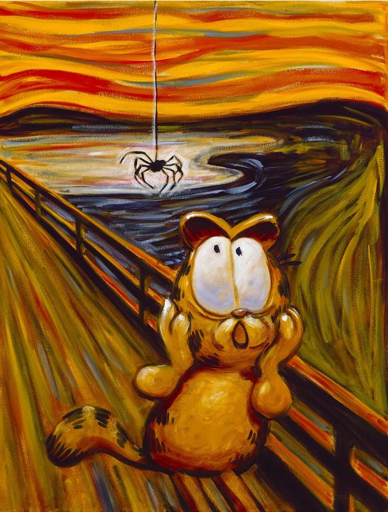 The Big Fat Hairy Scream – Garfield's Art Gallery & Collectibles: