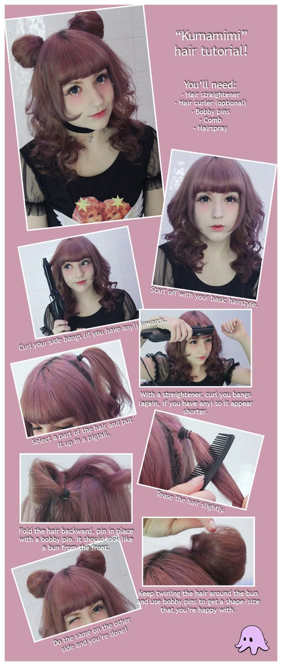Kawaii hairstyle (credits to the owner) Hairstyles