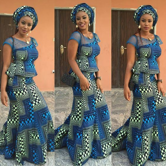 Latest Ankara Skirt And Blouse Styles 2017 Beautiful Nigeria