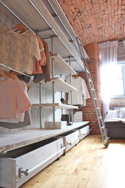 Trucos para organizar tu armario o vestidor