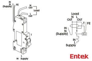 Entek Electric : RCBO wiring diagram wwwentekelectric