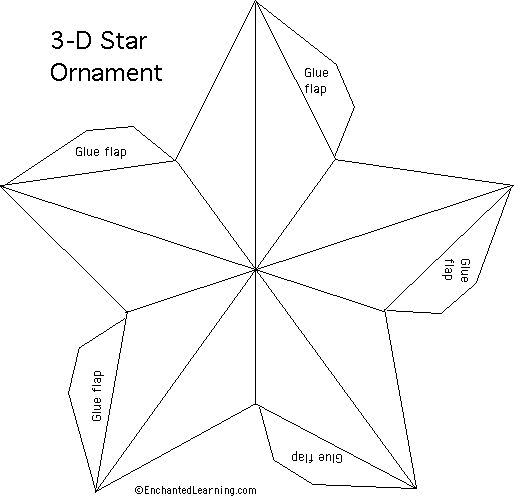 stars star template and star patterns on pinterest