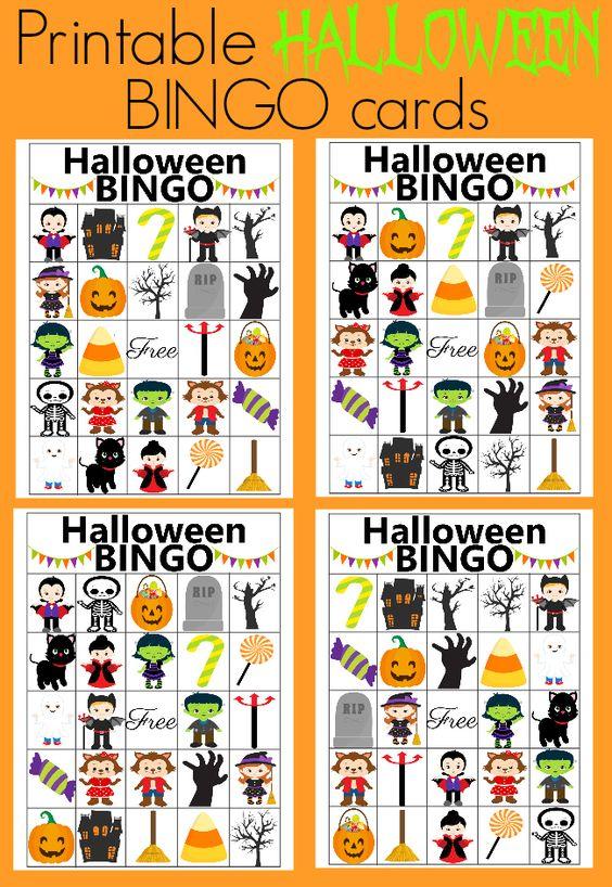 Bingo, Halloween and Blog on Pinterest