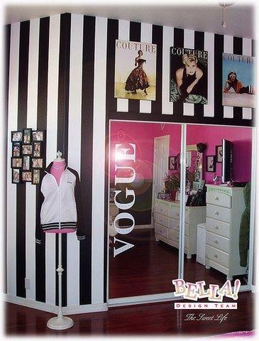 Vogue Fashion Theme S Bedrooms Ideas Pinterest Awesome. Fashion Themed Bedroom   Bedroom Style Ideas