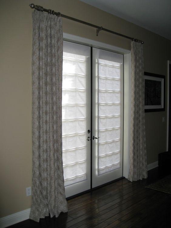 Window Treatment Ideas For Doors 3 Blind Mice Window