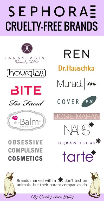 Favor cruelty-free brands over those that test on animals! #crueltyfree #sephora: