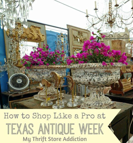how to shop Texas antique week like a pro