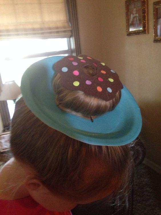 Donut Hairdo For Crazy Hair Day Hair Pinterest