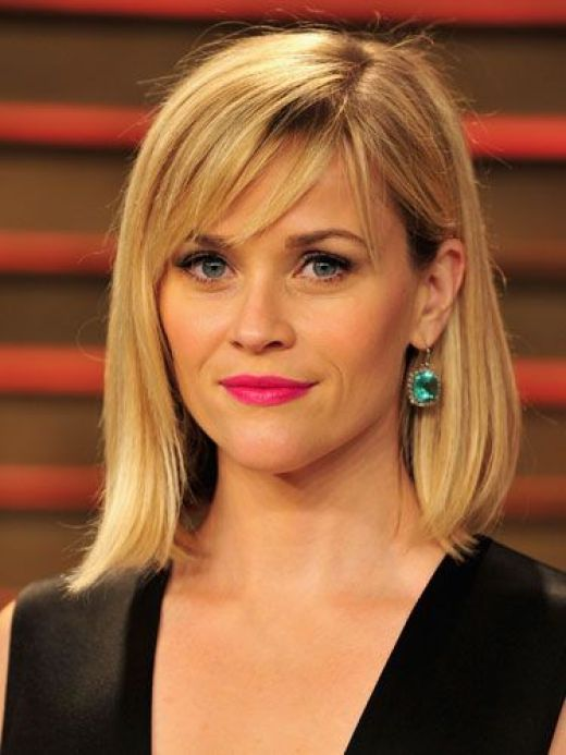 """1 Haircut, 6 Styles: The Lob....Shoulder grazing style.. """"A choppy bob that sits just below the collarbone; asymmetrical or less than perfect shapes deflect attention away from wrinkles"""":"""