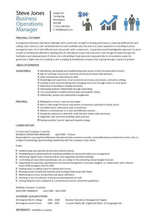 resume work resume business and more business operations resume resume